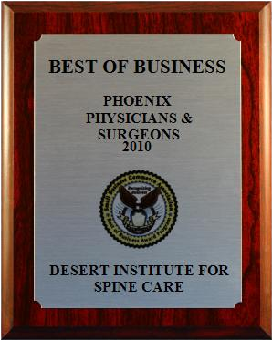 Best of Business Award for 2010