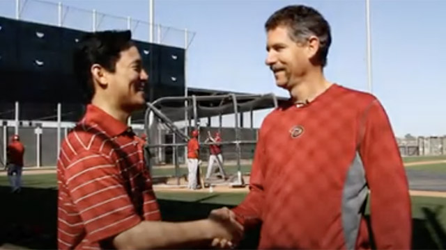 Dr. Christopher Yeung and the Arizona Diamondbacks