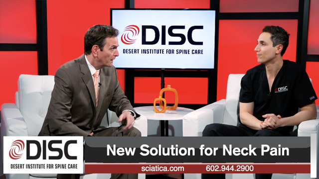 Nima Salari talks about a new solution for neck pain
